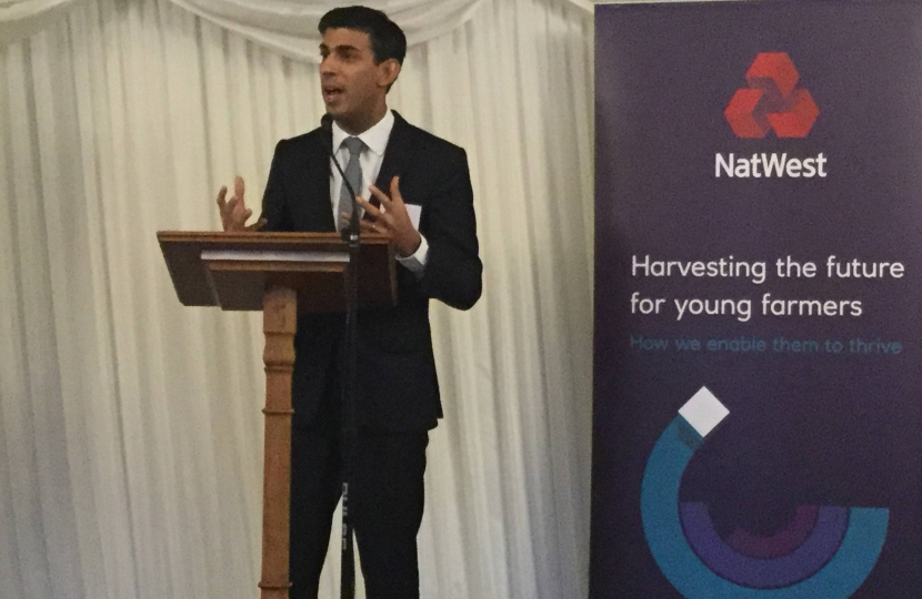 Rishi Sunak launches Nat West report