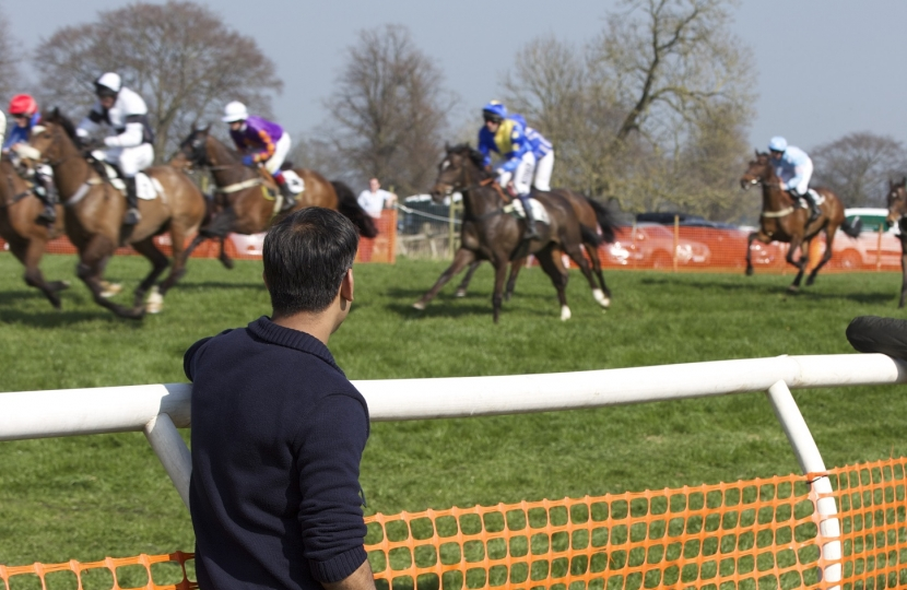 Rishi Sunak at the Bedale PTP