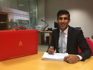 Rishi Sunak at Ministry of Housing, Communities and Local Government